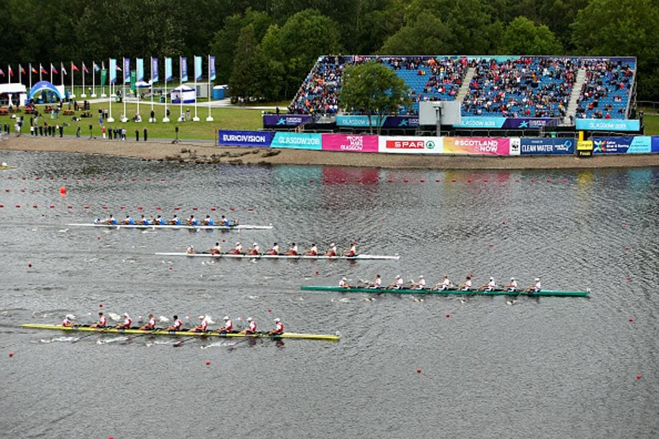 The Rowing Federation of Inda was suspended for violating the National Sports Code.