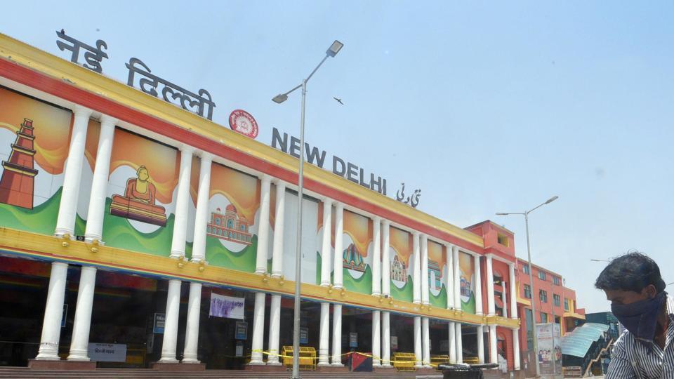 File photo:  New Delhi Railway Station (NDLS), Ajmeri Gate, New Delhi.
