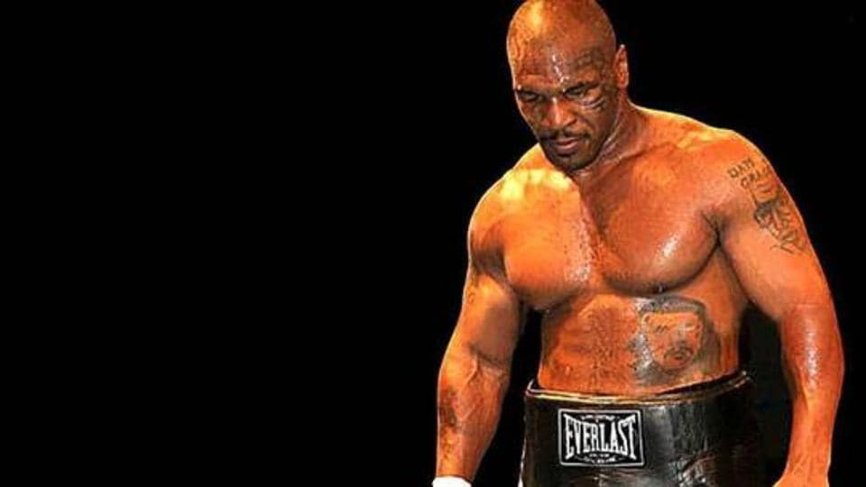 Mike Tyson is known for his ferocious and intimidating boxing style.