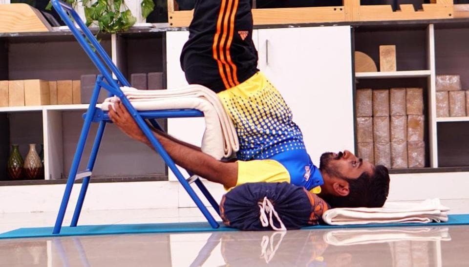 Sathiyan has been spending an hour-and-a-half six days a week doing Yoga for around two months.