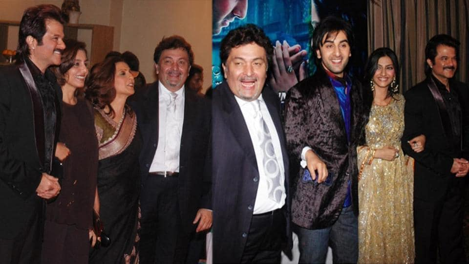 Anil Kapoor has shared a few throwback pictures from Saawariya launch.