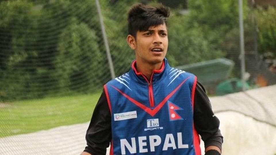 File image of Sandeep Lamichhane.