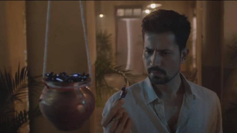 Sumeet Vyas in a still from Official Bhootiyagiri trailer.