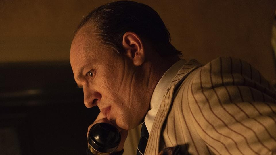 Capone movie review: Tom Hardy in a still from Josh Trank's new film.