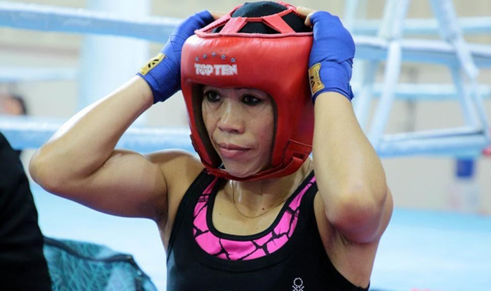 File photo of India boxer Mary Kom