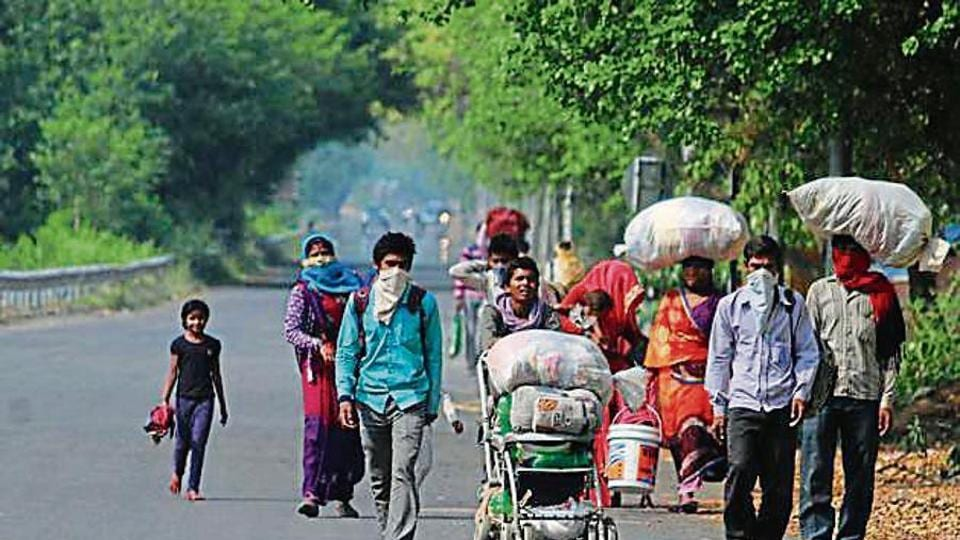 The returnees are being sent to their respective destinations from Haridwar by state-run buses.