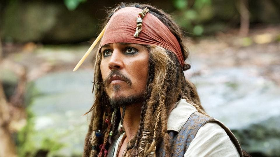 Johnny Depp has played Jack Sparrow in five Pirates of the Caribbean films.