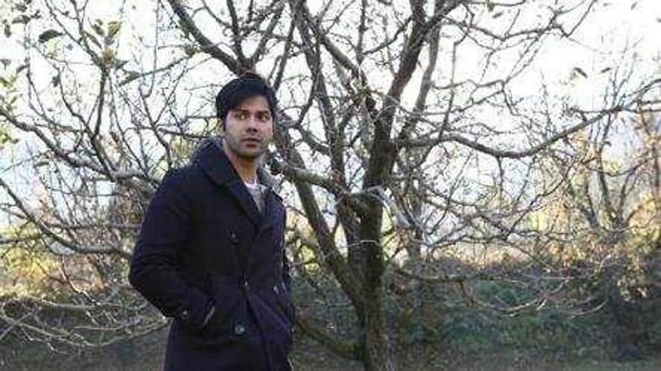 Varun Dhawan in a still from October.