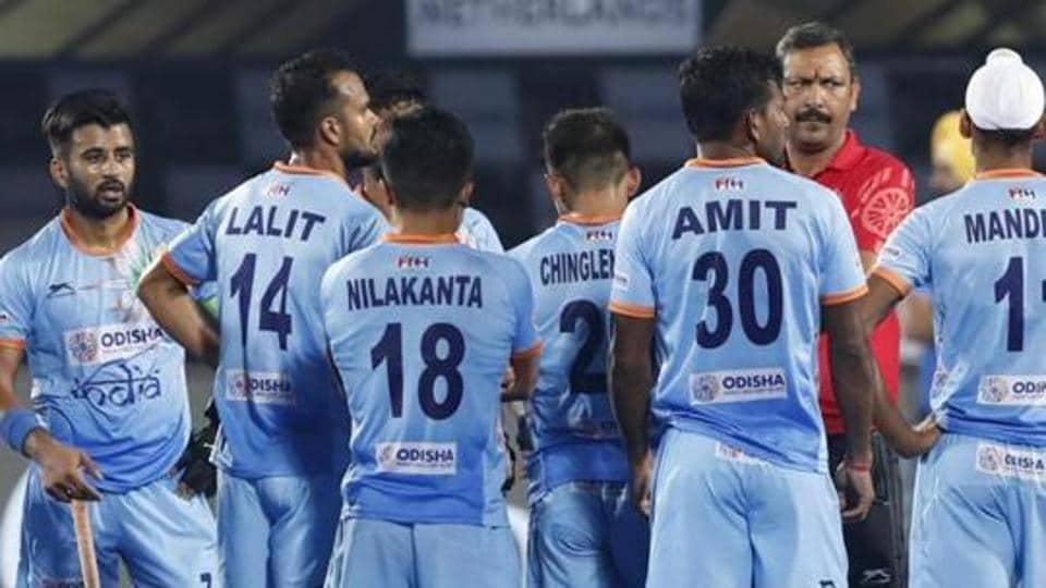 Members of Indian hockey team