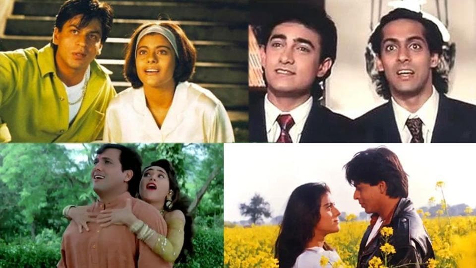 Kuch Kuch Hota Hai, Andaz Apna Apna, Govinda's films and Dilwale Dulhania Le Jayenge were among the favourite 90s films named by Bollywood celebrities.
