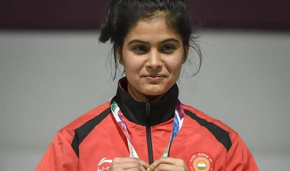 Shooting ace Manu Bhaker has been encouraging people to follow social distancing, and stay indoors.