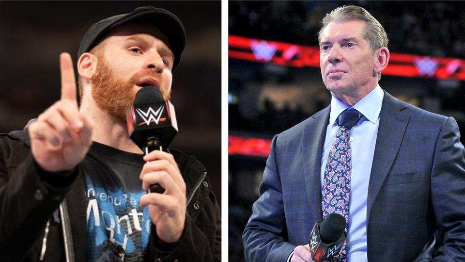 Sami Zayn and the WWE.