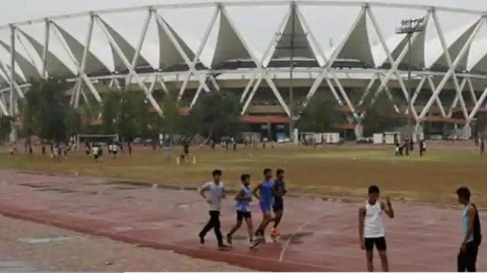 Representative image - Jawahar Lal Nehru Stadium in New Delhi.(Hindustan Times)