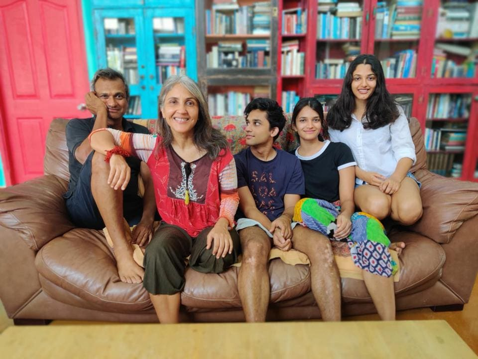 Author Anuja Chauha and poetess Minu Bakshi say that they are happy to spend quality time with their families.