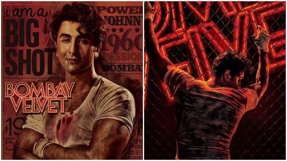 Ranbir Kapoor played a gangster in Bombay Velvet.
