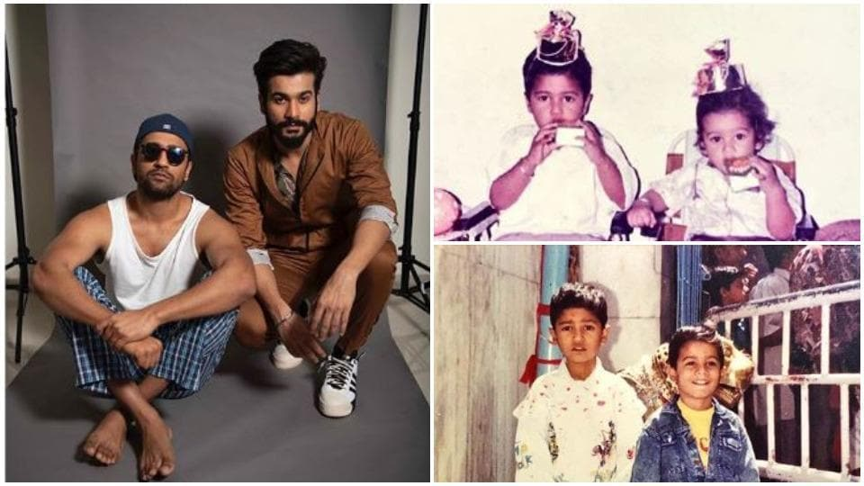 Sunny Kaushal shared pictures to mark Vicky Kaushal's 32nd birthday.