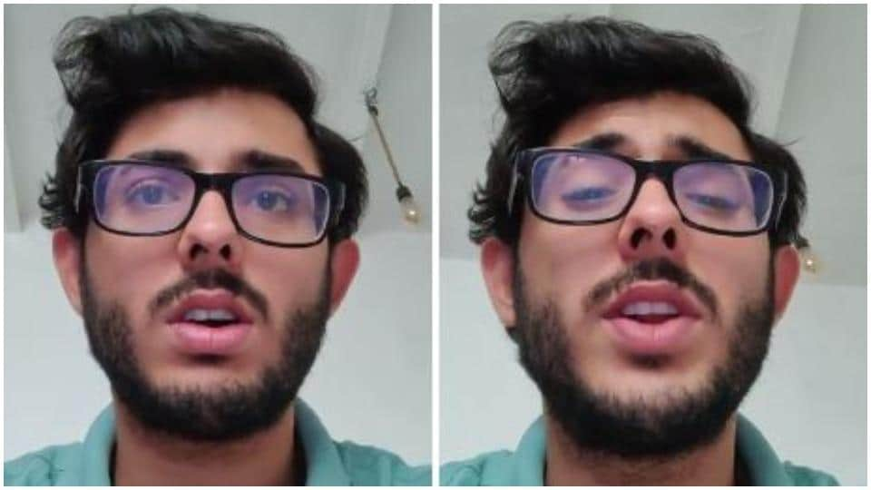 CarryMinati has tried to explain his side of the story.