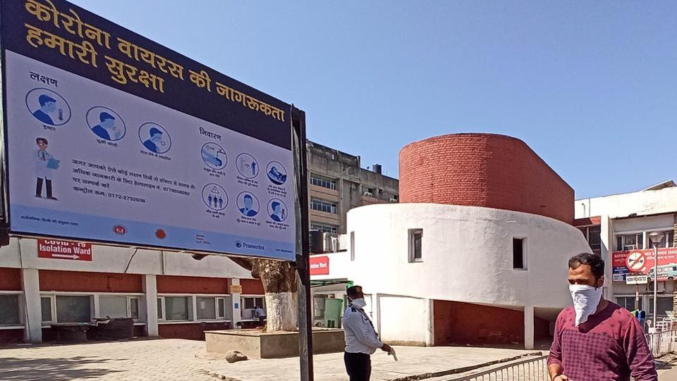 Chandigarh heath department has asked ward councillors to encourage residents to visit Government Multi-Speciality Hospital in Sector 16 or the Government Medical College and Hospital in Sector 32, if they show any Covid symptoms, for which they will be ferried in the health department's ambulance.