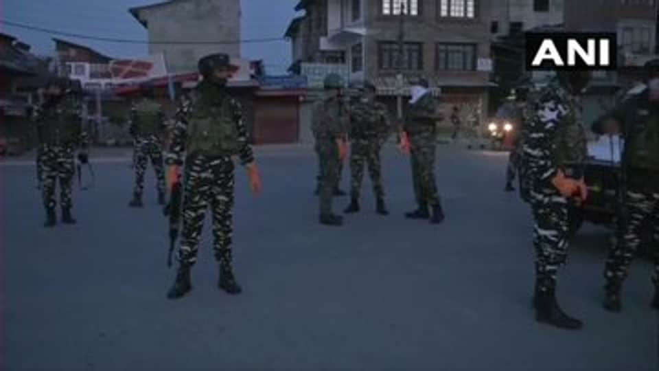 Three security force personnel were also injured during the operation, an officer said.