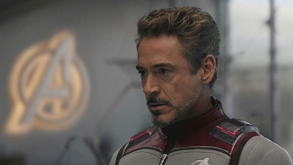 Robert Downey Jr in a still from Avengers: Endgame.