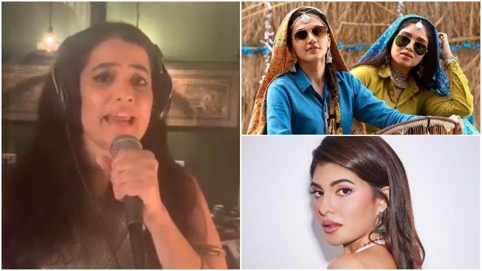 Sona Mohapatra is not happy with Taapsee Pannu, Bhumi Pednekar, Jacqueline Fernandez's lip-syncing.
