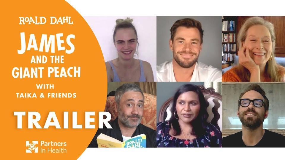 Lockdown story time: Oscar-winning filmmaker Taika Waititi leads Roald Dahl's James and the Giant Peach Covid-19 fundraiser