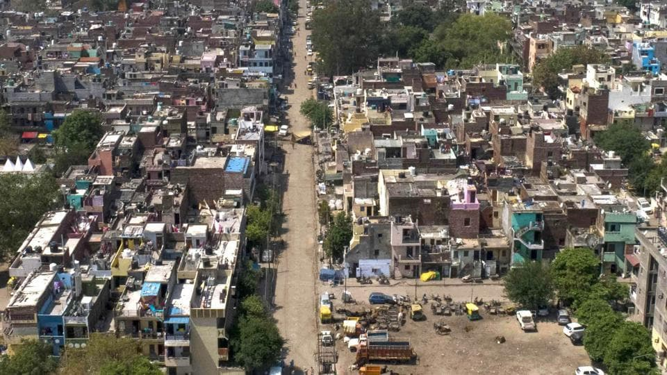 Bapu Dham Colony has become the epicenter of the pandemic in the city with 131 cases so far.