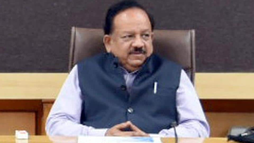 Minister of Health and Science & Technology Dr Harsh Vardhan