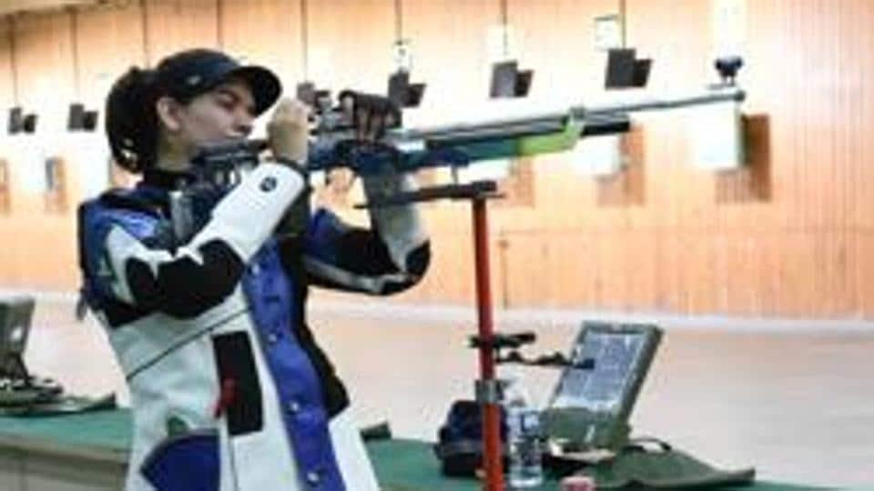 Anjum Moudgil in action