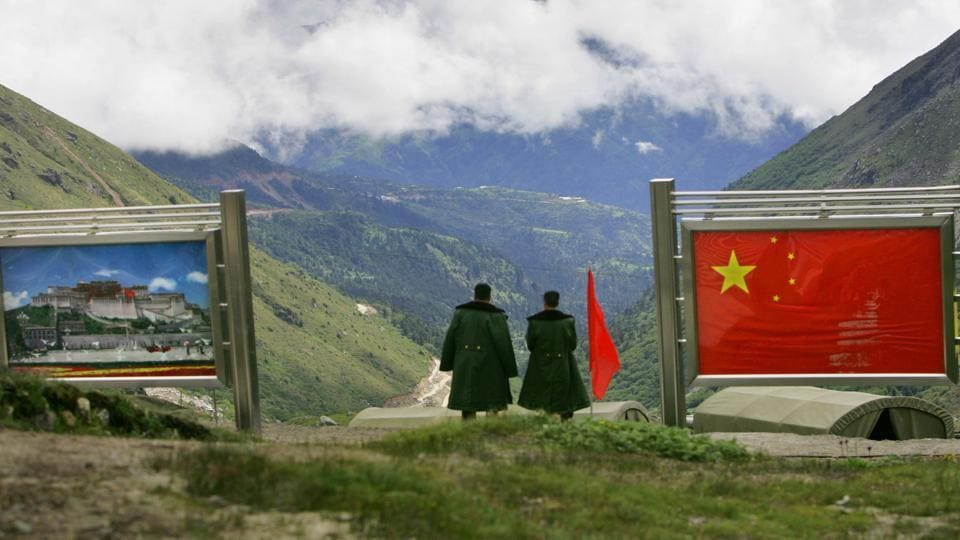 Indian and Chinese soldiers were involved in a tense face-off along the India-China boundary earlier this month.