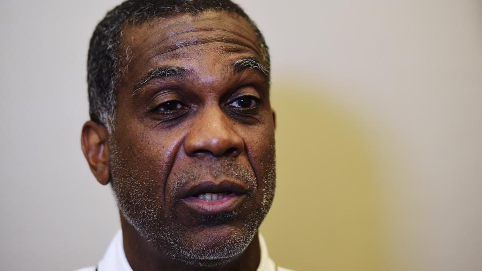 Former West Indies Cricketer Michael Holding.