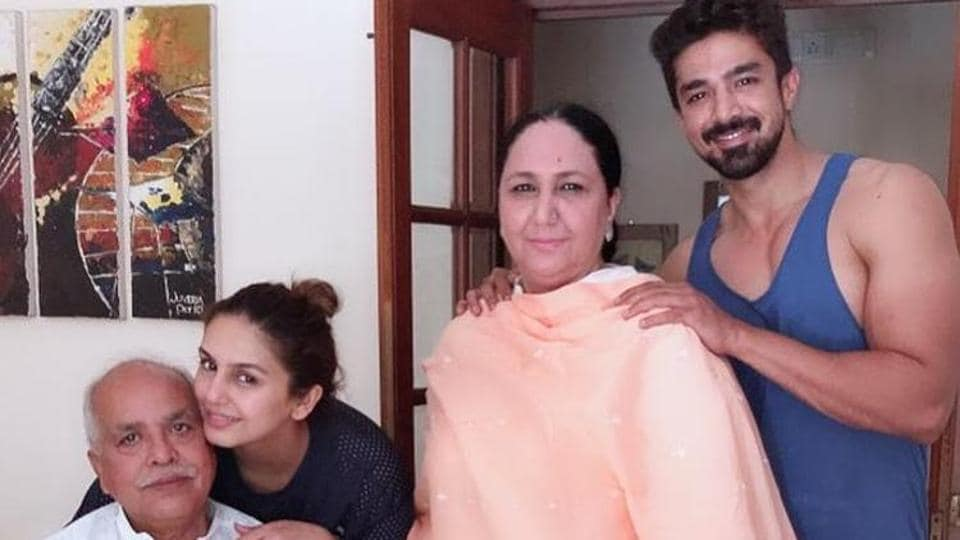 Actor Saqib Saleem and sister Huma Qureshi are in Mumbai but their parents are in Delhi