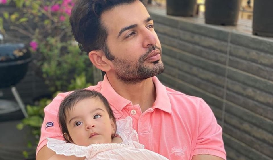 Jay Bhanushali has been spending a lot of time with daughter Tara during the lockdown.