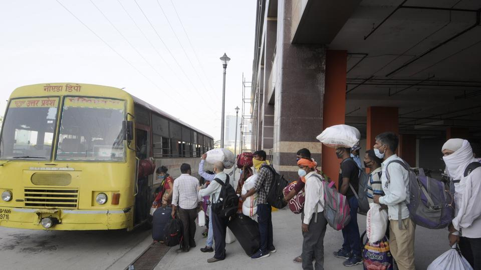 The Uttar Pradesh government however said that had chalked out a detailed plan and were in the process of sending migrants back to their home towns safely via trains and buses.