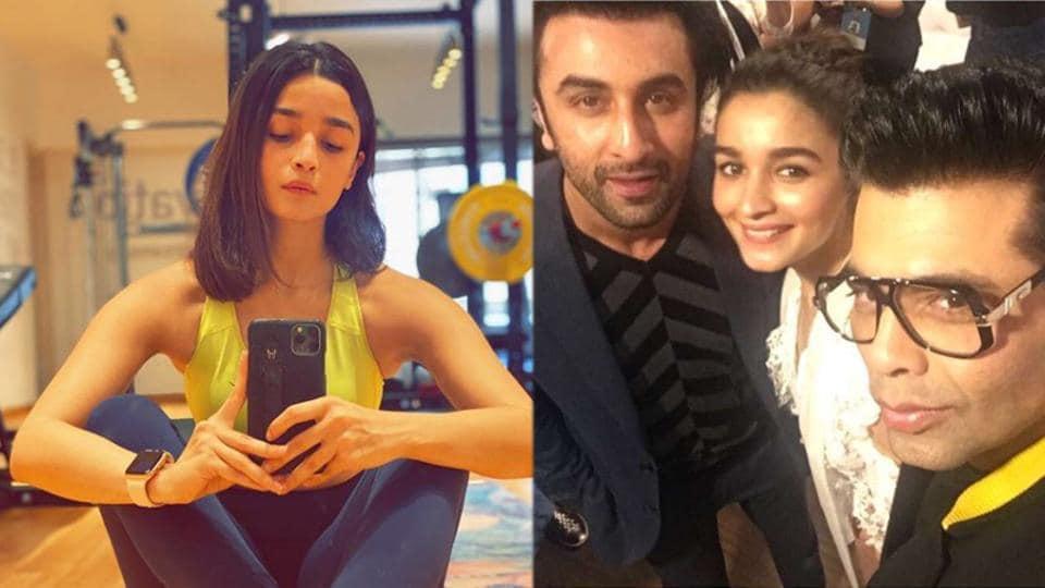 Karan Johar has confirmed Ranbir Kapoor has turned into Alia Bhatt's new stylish during lockdown.