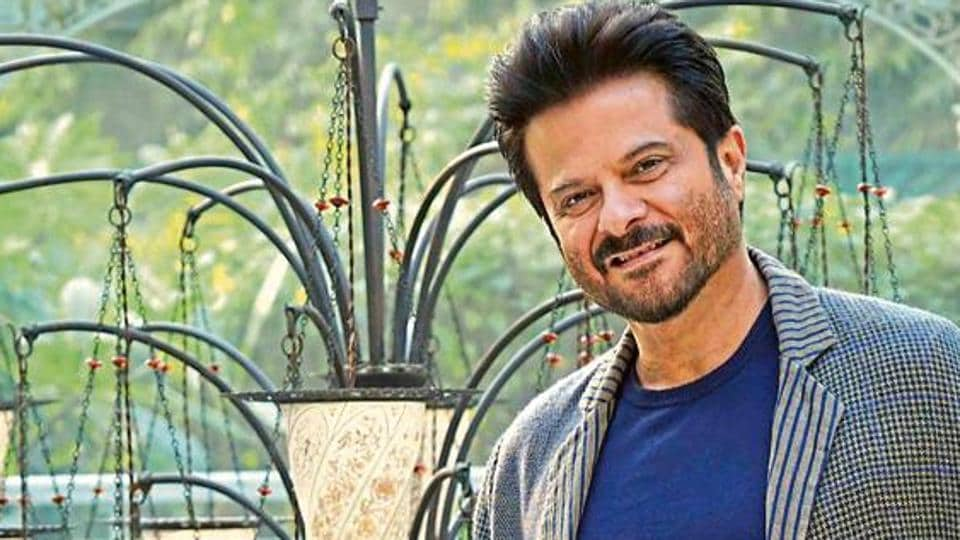 Actor Anil Kapoor has made a work station of sorts at his home