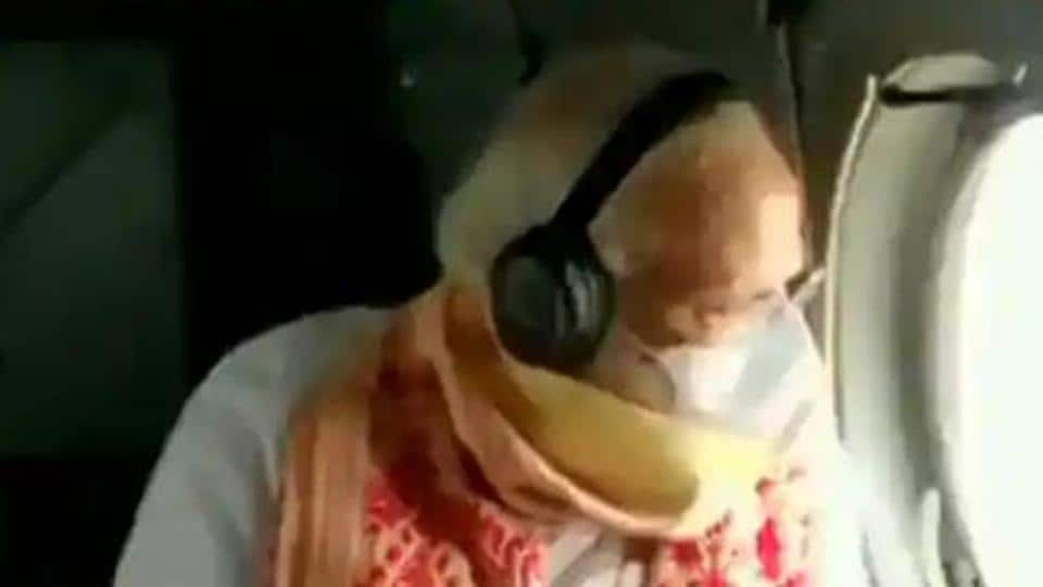 PM Modi conducting an aerial survey of Bengal with CM Mamata Banerjee.