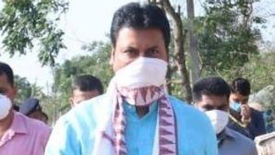 Biplab Kumar Deb informed that the Tripura government has constituted Corona Awareness and Monitoring Committees at the village level to ensure safety of people of the state.