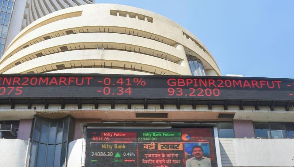 Out of the 30 shares on Sensex, only seven were in the green.