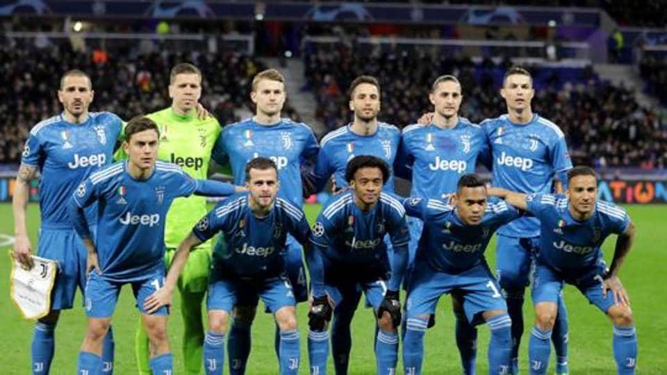 FILE PHOTOJuventus players pose for a team group photo