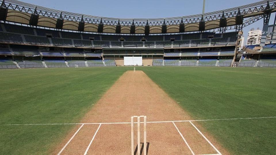 The pitch of Wankhede stadium, Mumbai Cricket Association (representational image)