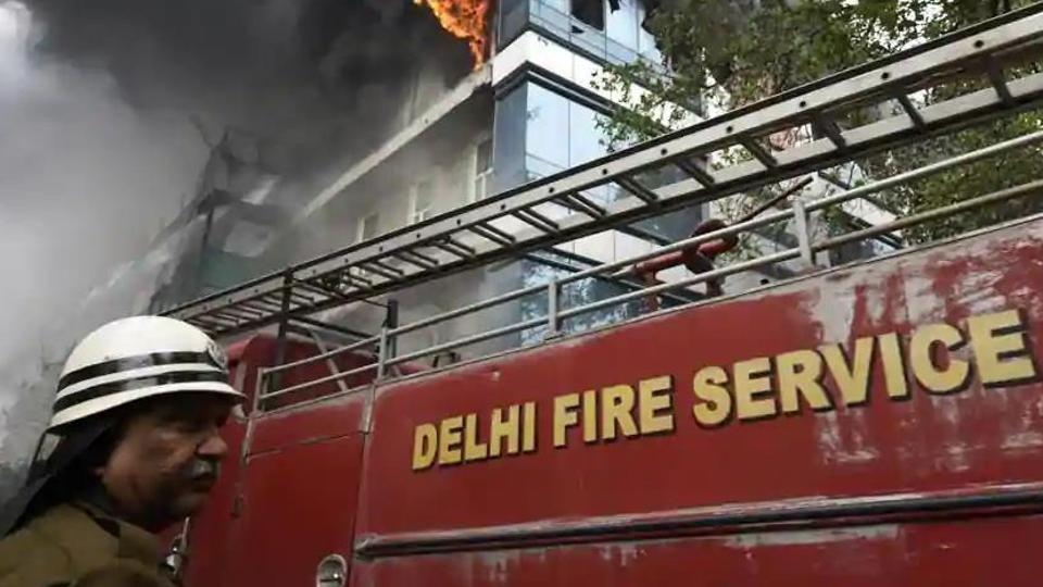 Fire broke out at the Cygnus Orthocare Hospital in south Delhi.