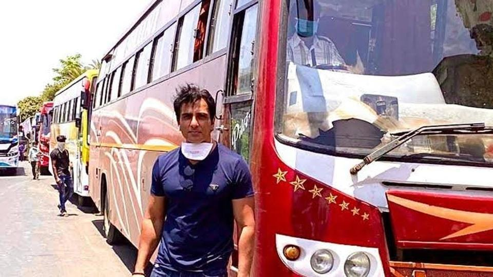 Sonu Sood is getting praise for working for migrants.