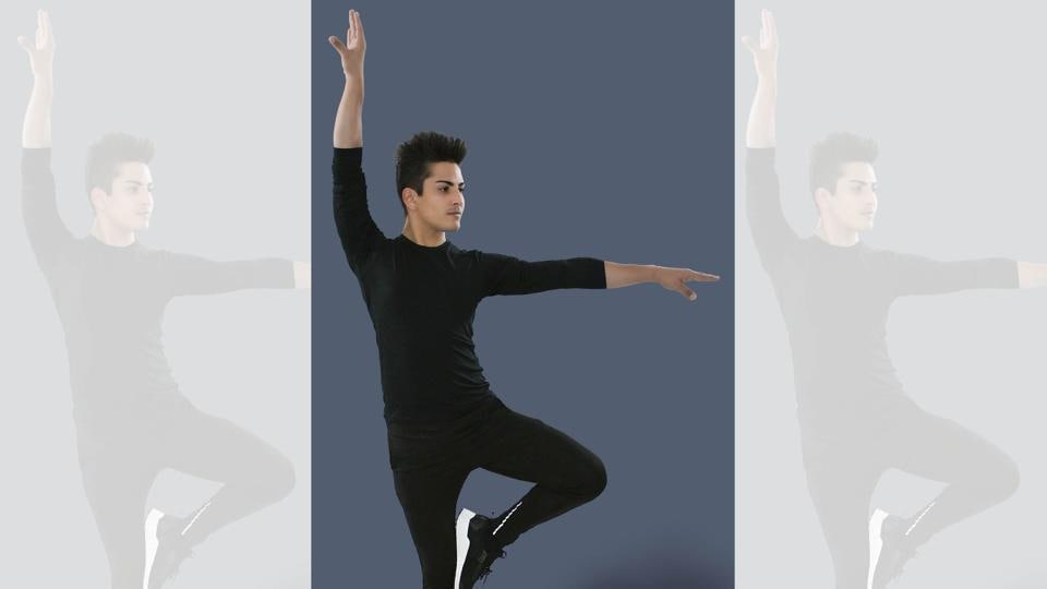Dance isn't just an art form or an expression, but also the key to your overall well-being. Pulkit Sharma showing a dance wellness move.