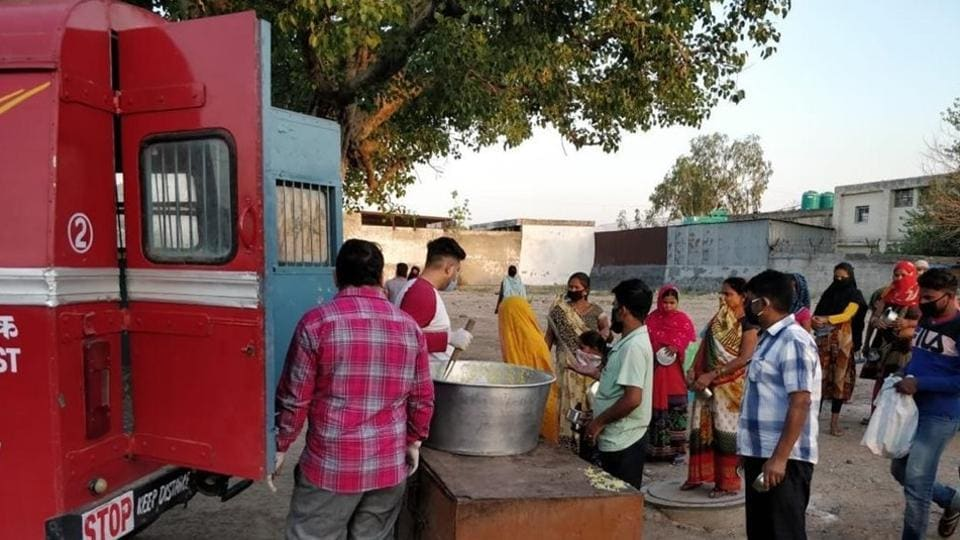 Postal officials said no funds were allotted for the purpose, adding that the help was extended to the deprived with the collaboration of local gurdwaras, temples, non-governmental organisations, private agencies and the postal staff's voluntary contribution.