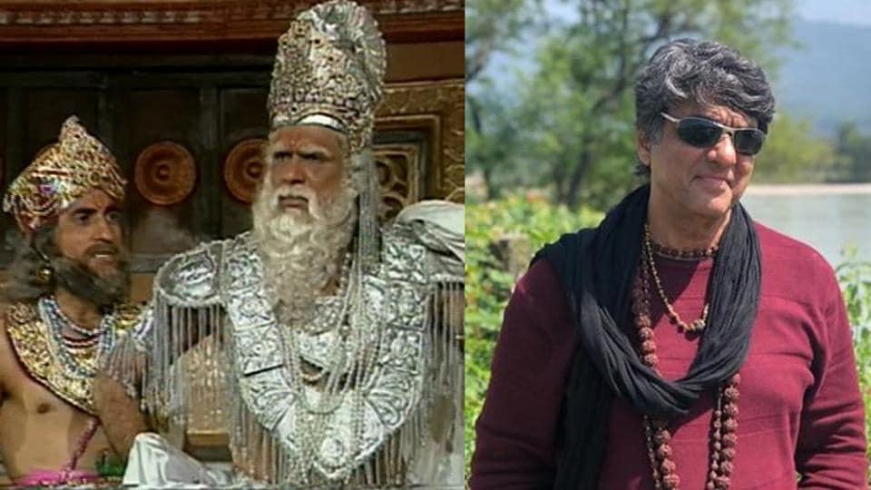 Mukesh Khanna played Bhishma in BR Chopra's Mahabharat.
