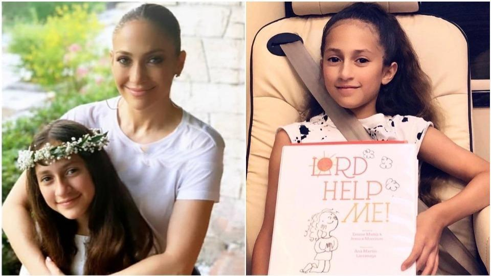 American singer-actor Jennifer Lopez also recently announced that her 12-year-old daughter Emme Maribel Muniz is releasing a children's book about the power of prayer.