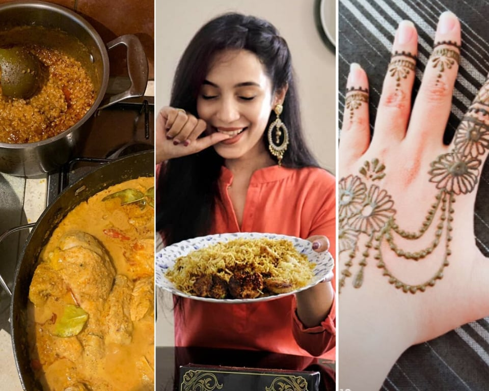 Here are some ways in which you can celebrate Eid, have plenty of fun, while also practising social distancing and respecting the lockdown.