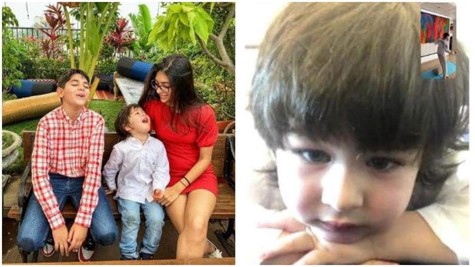 Taimur Ali Khan and Kiaan Kapur have been staying connected through video calls.