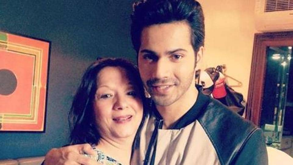 Varun Dhawan has often shared photos on Instagram with his aunt.